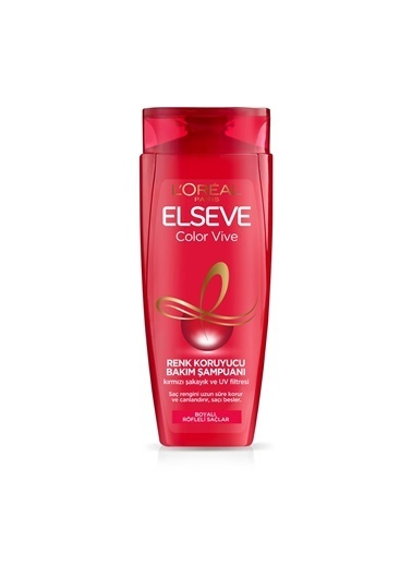 L'Oréal Paris L'Oréal Paris Elseve Colorvive Renk Koruyucu Bakım Şampuanı 450 ml Renksiz